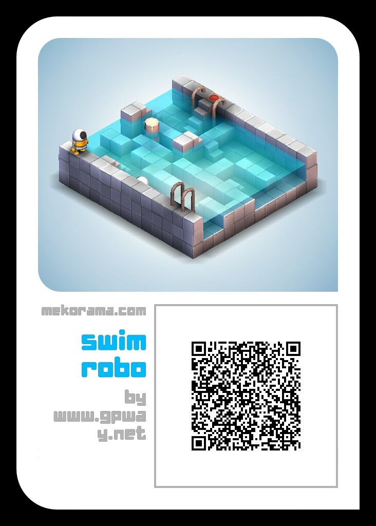 #mekorama free game level for fun. Just scan this image from #mekorama game tool.