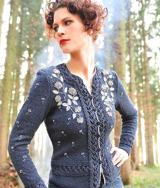 knit lady sweater
