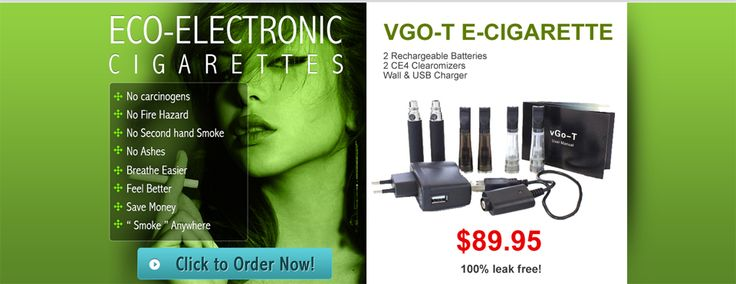 Eco-Electronic Cigarettes supplies the best quality electronic cigarettes, e-liquid and electronic cigarette accessories to Canada and the USA. 100% Leak Proof click to order now! Log on http://www.eco-electroniccigarettes.com/about-us