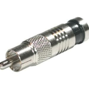 Cables To Go C2G RG59 Compression RCA Connector - 50pk #41118