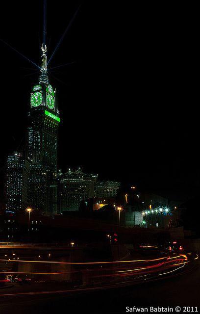 Makkah Clock - Night