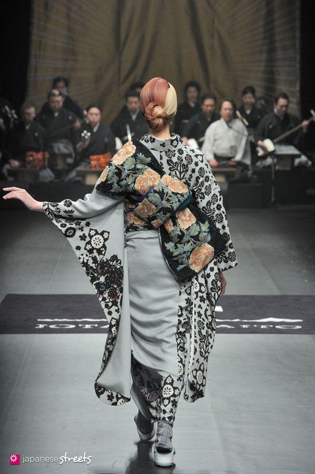 140319-7748 - Autumn/Winter 2014 Collection of Japanese fashion brand JOTARO SAITO on March 19, 2014, in Tokyo.