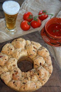 Tentações Sobre a Mesa: Pizza Monkey Bread