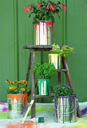 29 Spring Container Gardening Ideas | DIY Garden Ideas on a Budget