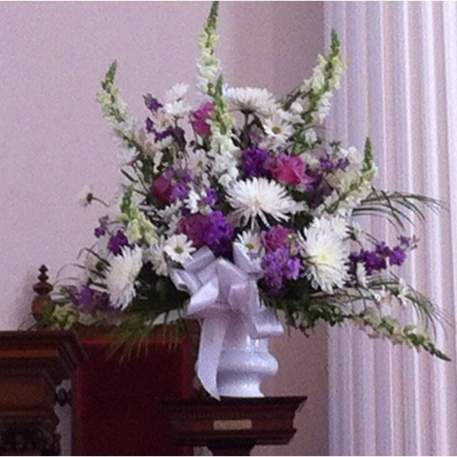 Wedding Altar Sims: Flowers At Church