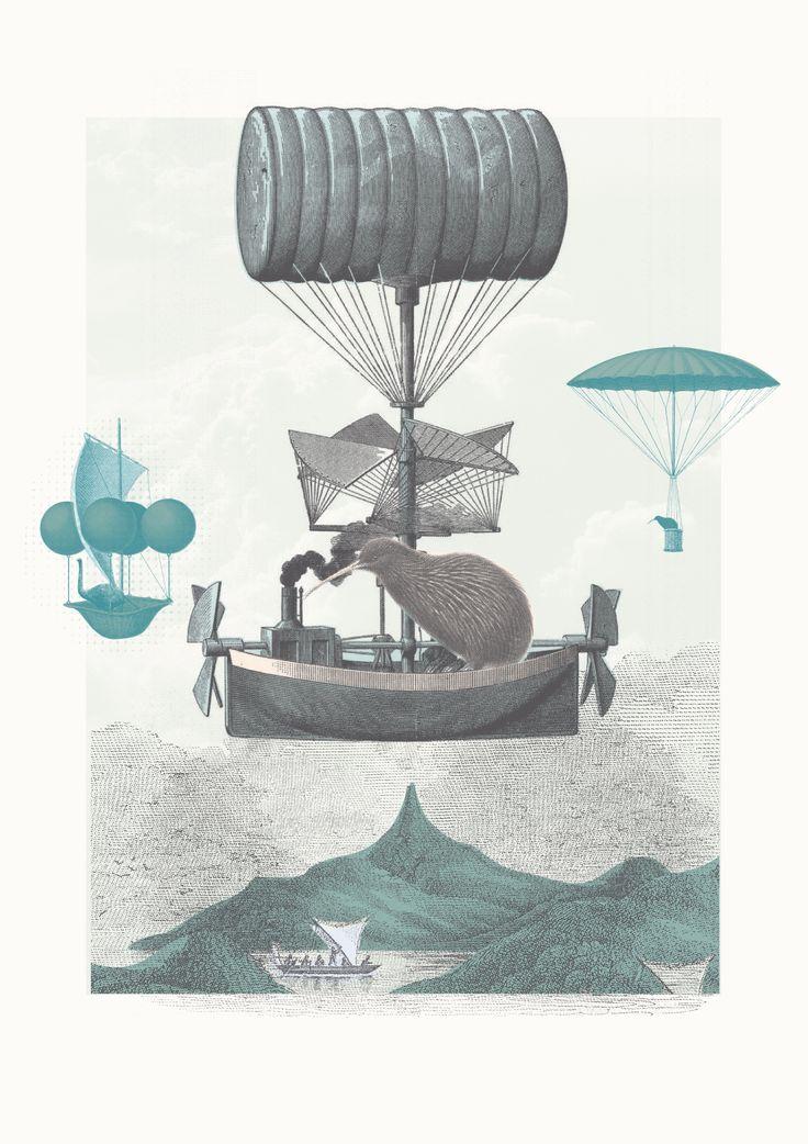 the great migration by Rakai Karaitiana for House of Aroha