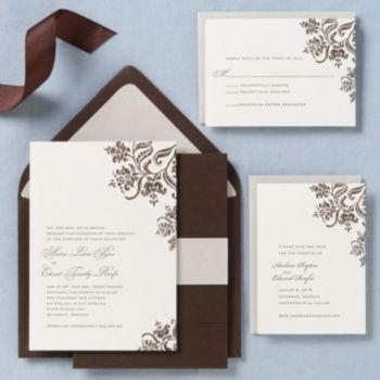 colonial stencil wedding invitation andrea edward paper source married stuff pinterest paper source invitation envelopes and weddings - Paper Source Wedding Invitations