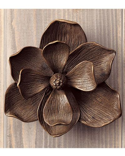 magnolia door knocker by gump