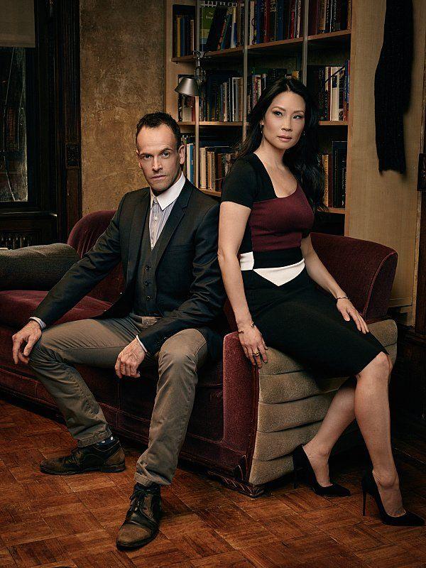 Lucy Liu & Jonny Lee Miller
