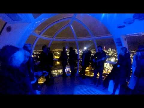 London Eye Flash Mob Proposal by The Proposers musical proposal, surprise proposal!