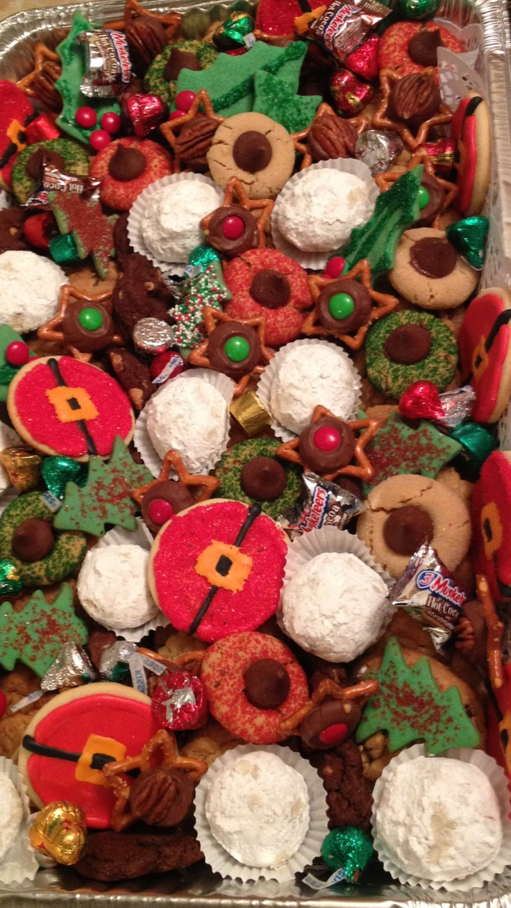 8 best Christmas cookie tray ideas images on Pinterest | Cookie ...