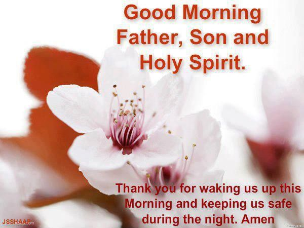 Image result for good morning holy spirit picture