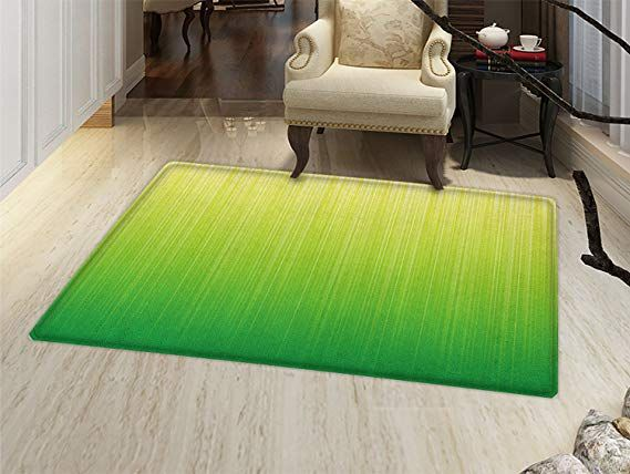 Amazon Com Smallbeefly Lime Green Bath Mats For Floors Pin Striped Digital Background Highlight Lines Abst Green Bath Mat Lime Green Bath Mat Abstract Styles