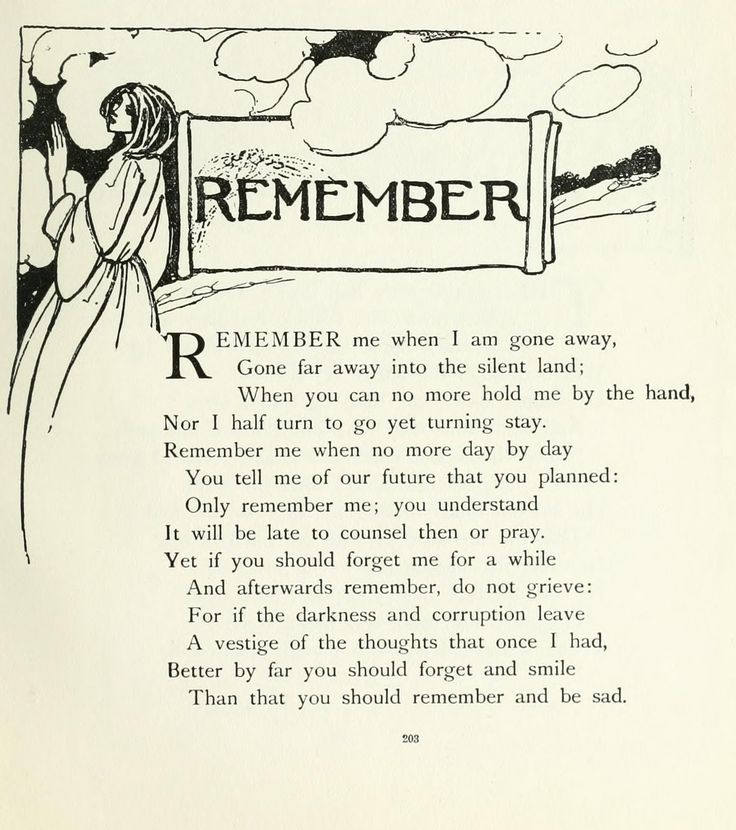 Christina Rossetti - one of my favourites
