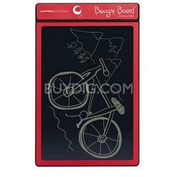 Boogie Board 8.5-Inch LCD Writing Tablet, Red
