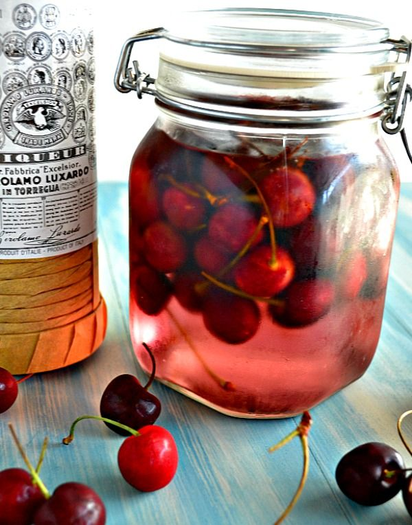 ... Homemade Super, Finger Foods, Homemade Maraschino Cherries, Bottle