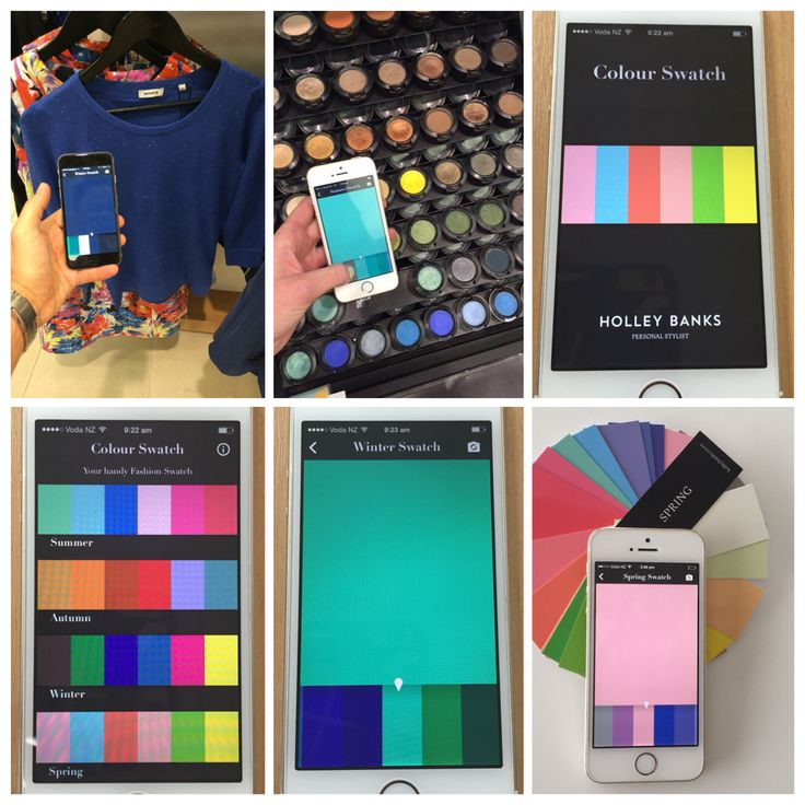 Personal colour swatch app - a modern approach to traditional personal shopping!   Download on the App Store today!