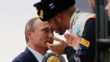 BBC Sport - Lewis Hamilton wins incident-packed Russian Grand Prix
