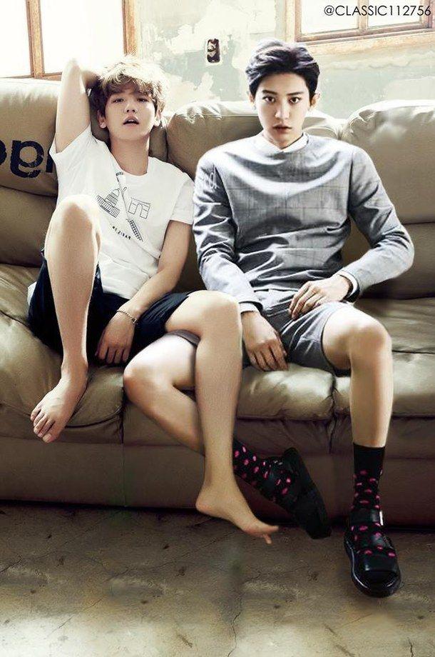  EXO  BAEKHYUN & CHANYEOL #EXO #Chanyeol #baekhyun