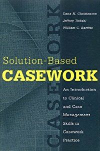 Solution-based casework is an approach to assessment, case planning, and case management that combines what we know from clinical social work with what we value about sound social work practice. It is grounded in family-centered social work and draws from clinical approaches within social work and mental health. By integrating problem- and solution-focused approaches that form the clinical and social work traditions, treatment partnerships are more easily formed between family, caseworker…