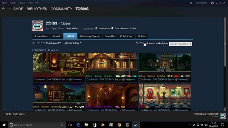 Tutorial: YouTube Video mit Steam Community verknüpfen
