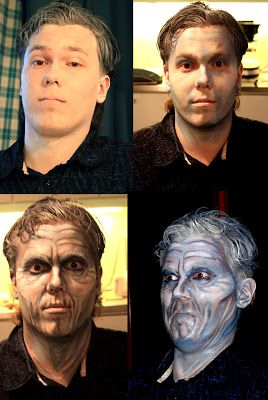 By: Satu Laaninen  Herkkupurkki: kasvomaalaus halloween mask, step by step tutorial, body art