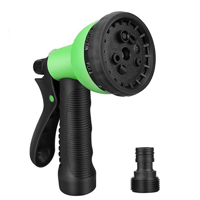 Greenmount Patent Adjustable Garden Hose Nozzle Anti Leak Heavy