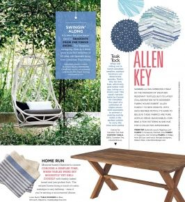marvelous robert allen home and garden. Robert Allen s Feature in Canada Style at Home Open Air Collection 53 best  In the News images on Pinterest news January and Marvelous And Garden Design Plan