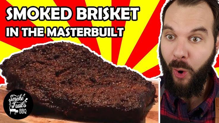 How to make smoked brisket masterbuilt electric smoker