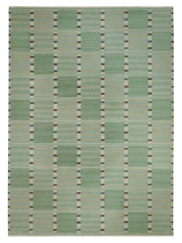 Falurutan, Fabiola Designed by Barbro Nilsson #MMF #MärtaMååsFjetterström #MartaMaas #BarbroNilsson #Handwoven #Handmade #Flatweave #Rug #Rugs #SwedishCarpets #SwedishDesign