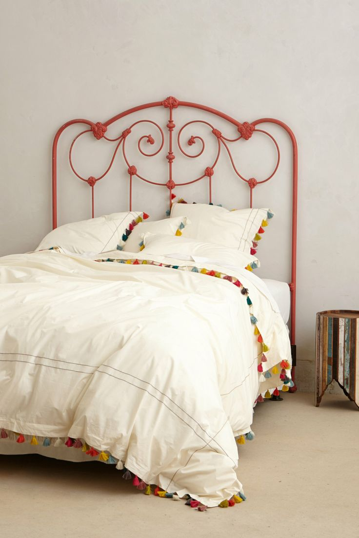 Colorful tassel bedding
