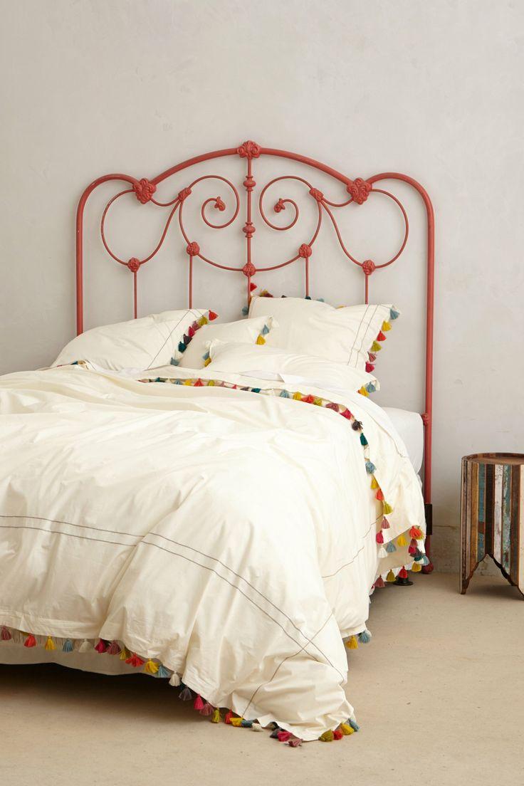 Colorful tassel bedding