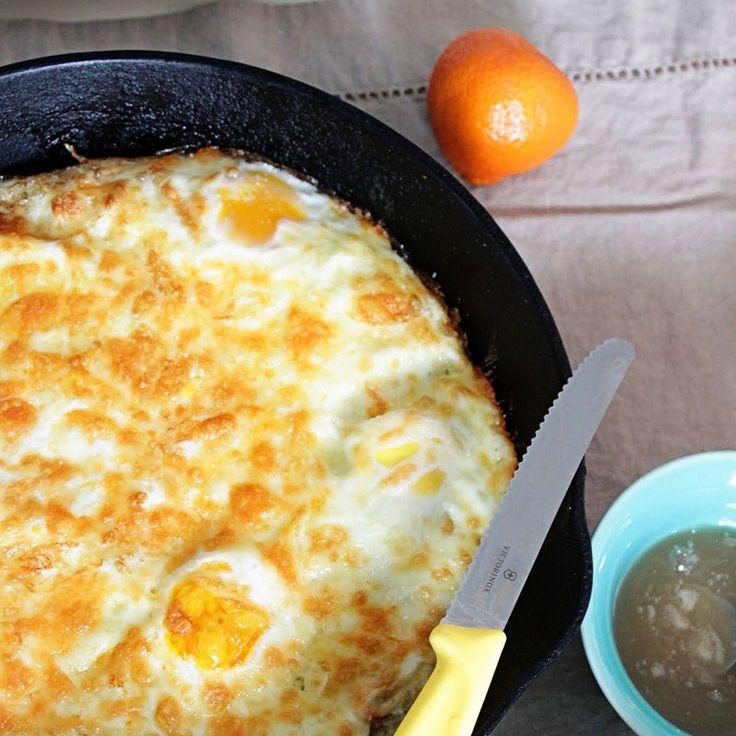 Ψημένα αυγά στον φούρνο με τραγανή κρούστα!