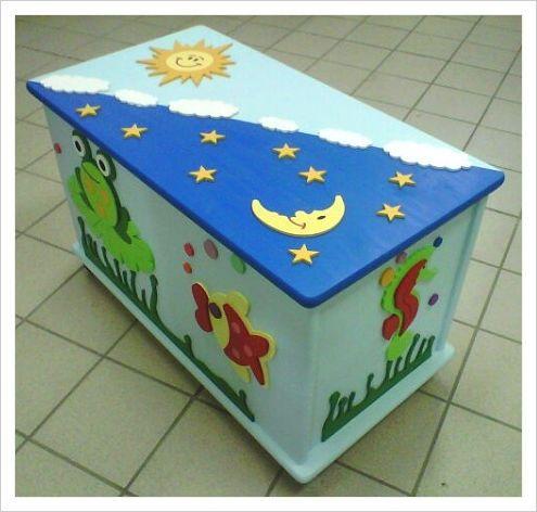 Oltre 25 idee originali per baule legno su pinterest for Cassapanca x bambini