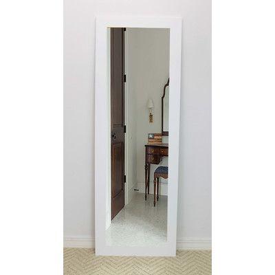 Brayden Studio® White Vanity Wall Mirror