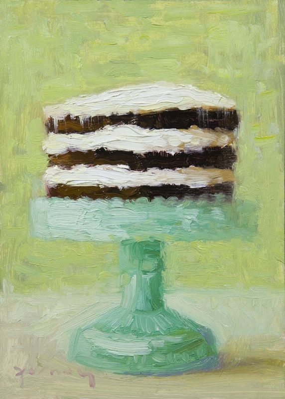cake painting by paul ferney