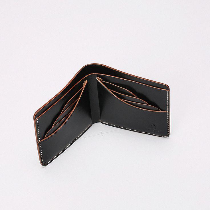 菩提說 FOSTYLE 植鞣牛皮 手工 W03短款钱包 | Showbagnow