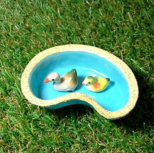 Shop https://goo.gl/AVNYH2   Mini Mandarin duck and duckling with Pond for Mini Garden Decoration    Price 12.99   Go to Store https://goo.gl/AVNYH2  #Decoration #Duck #Duckling #Garden #Mandarin #Mini #Pond