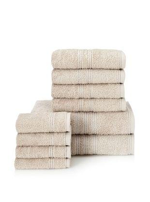 66% OFF Chortex 10-Piece Imperial Bath Towel Set, Stone
