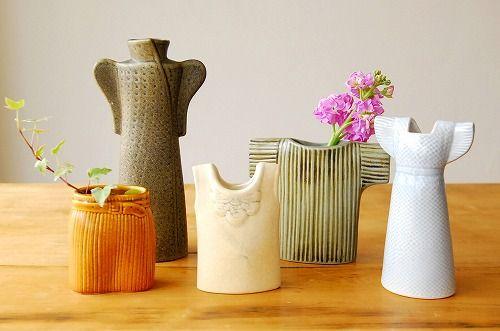 【取扱い終了】Lisa Larson/リサ・ラーソン/Wardrobe/ワードローブ/花瓶/ドレス - 北欧雑貨と北欧食器の通販サイト  北欧、暮らしの道具店
