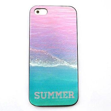 Bakside Dekke - iPhone 5/iPhone 5S - Grafisk/Blandet Farge/Spesielt Design ( Multi-farge , Plastikk ) – NOK kr. 17
