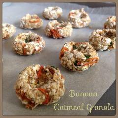 My Mind Patch: Homemade Rabbit Treat - Banana Oatmeal Carrot Granola