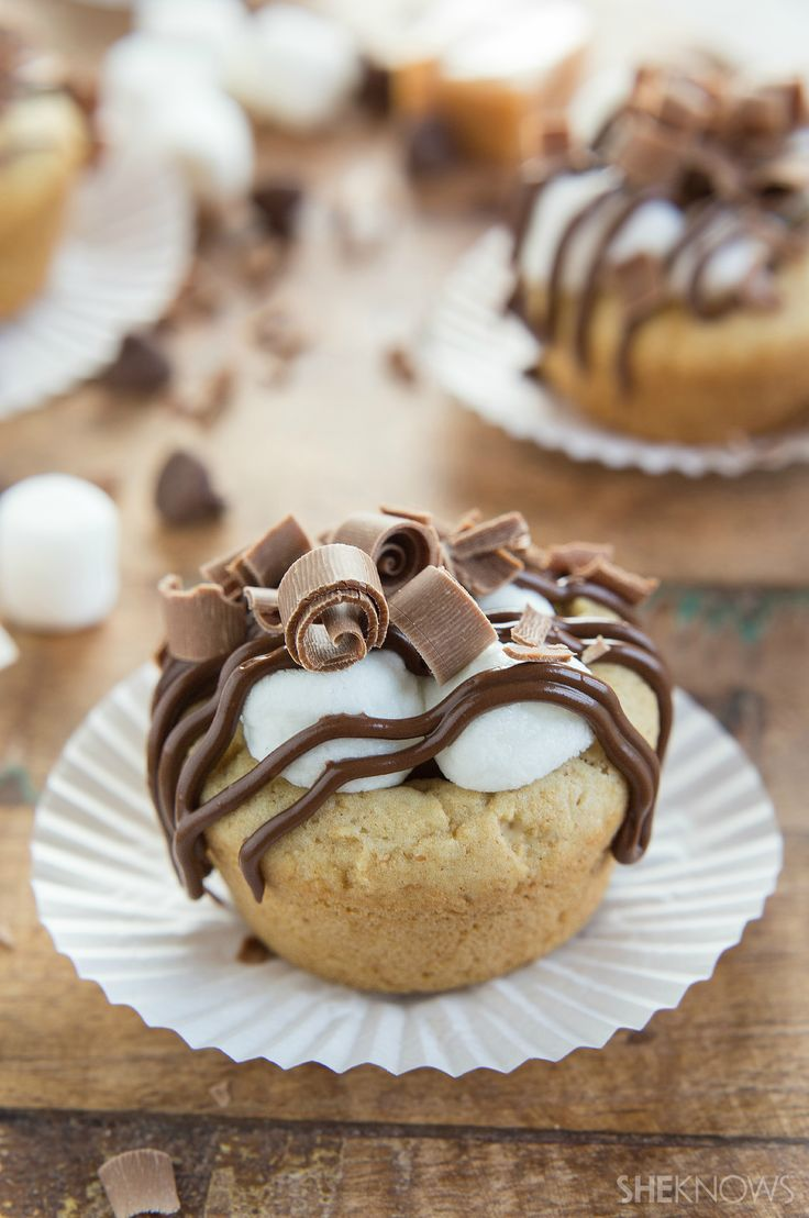 S'mores Cookie Cups | She Knows