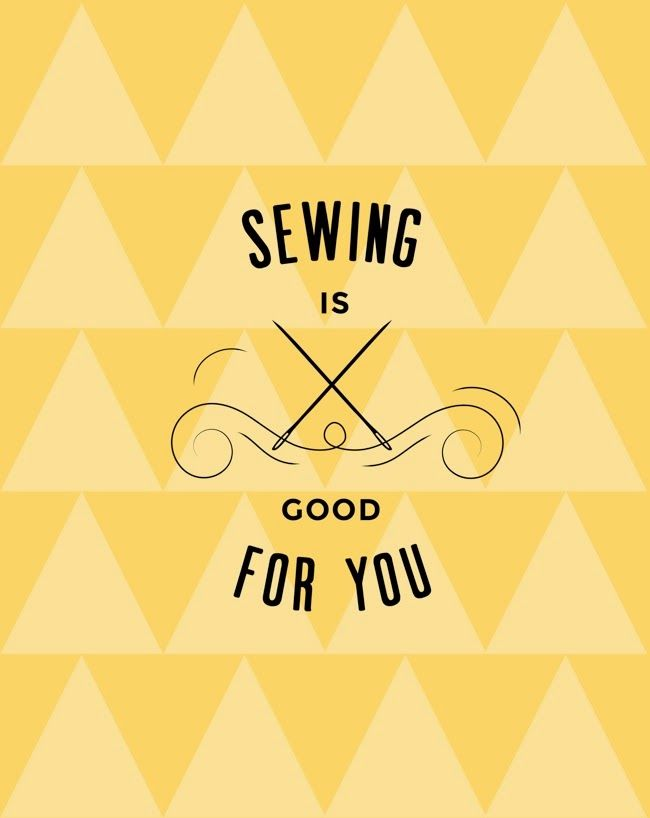 Perfect poster for your sewing room wall? | Tilly And The Buttons
