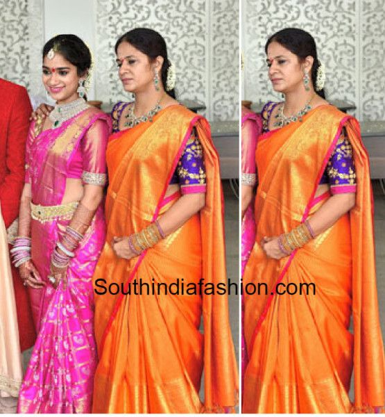 revanthreddy wife and their daughter nymisha on engagement