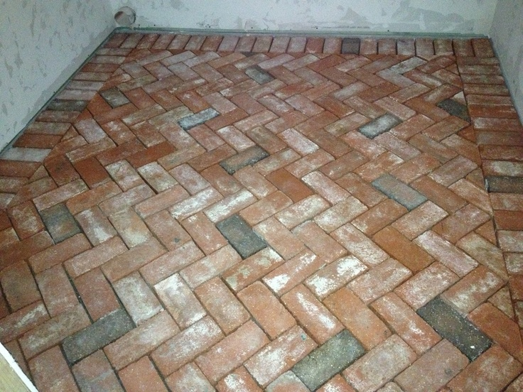 17 best images about brick flooring on pinterest brick for Cost of brick flooring