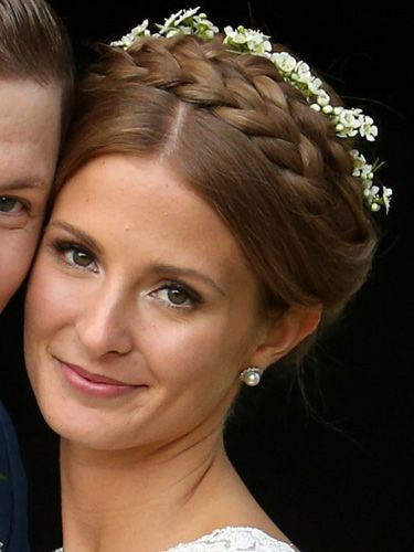 Millie Mackintosh's wedding makeup - Millie Mackintosh and Professor Green wedding pictures - celebrity wedding makeup inspiration at Cosmopolitan.co.uk