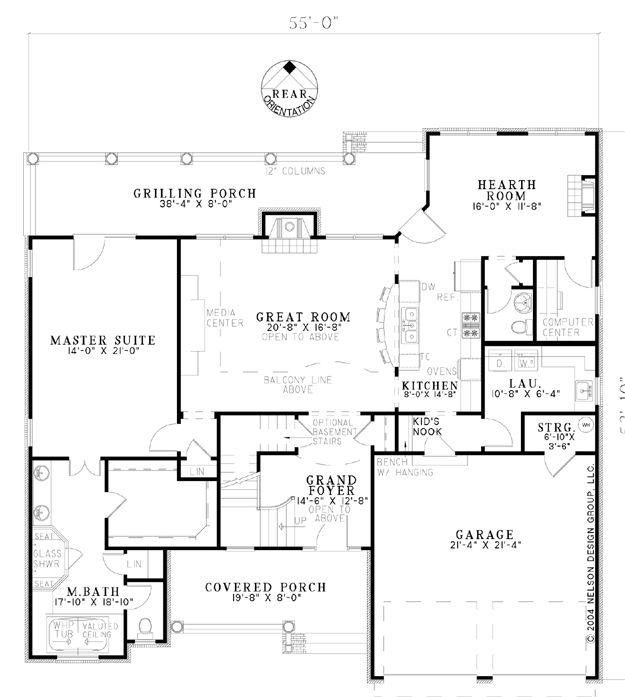 Plan Single House Plans Design Plan Design And Design