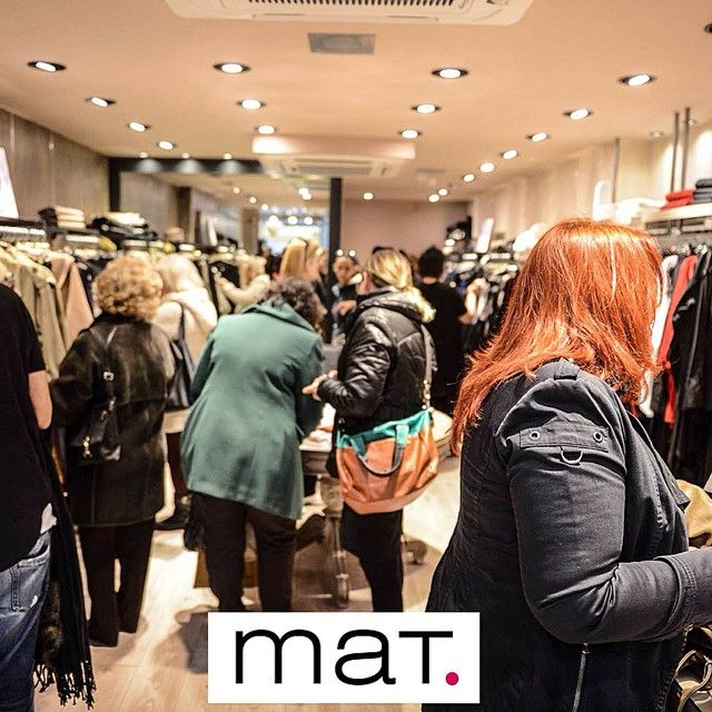 Wow! Fashion insiders are snapping up #matfashion winter collection at #matlarissa #party