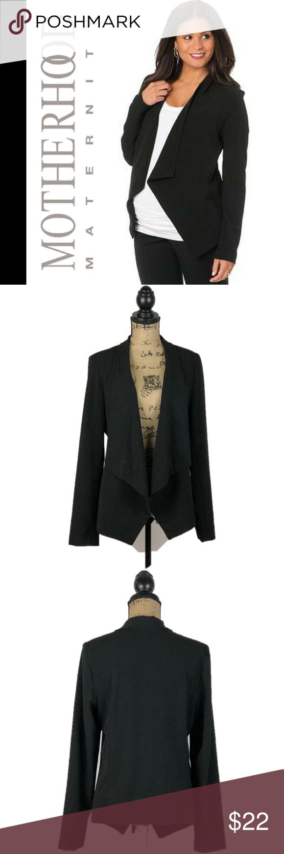 """NWT❣️ Motherhood Maternity Blazer Low & High Super dressy maternity blazer. It's so versatile you can use it also after you give birth.   Pit to Pit: 20"""" Length: 24"""" Sleves: 18"""" Motherhood Maternity Jackets & Coats Blazers"""